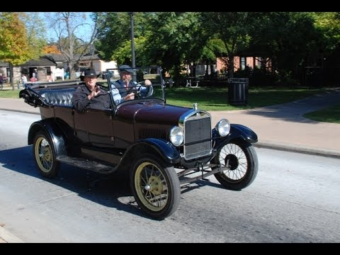 1927 Ford Model T recorded on Google Glass