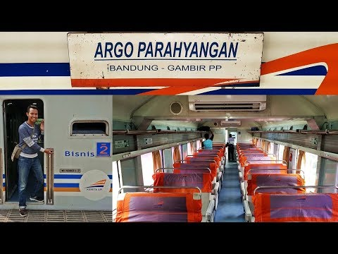 Trip by Train - Argo Parahyangan 'Harina' Business Class