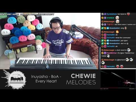 Inuyasha - BoA - Every Heart Piano Solo Cover