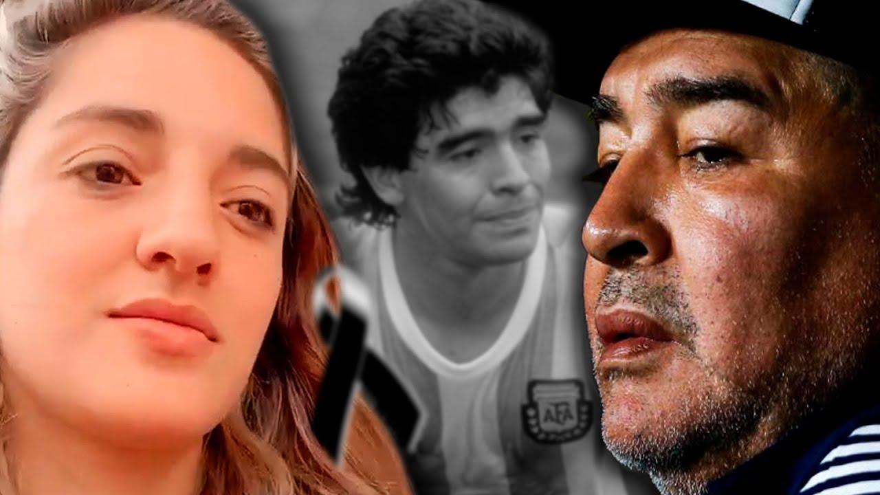 Así Fue La Emotiva Despedida De Diego Armando Maradona. Su Hija Habría Predicho Su Partida.