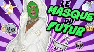 CRASH TEST : CE MASQUE M'A CHOQUÉ !! 👽🧖🏽♀️💅🏽
