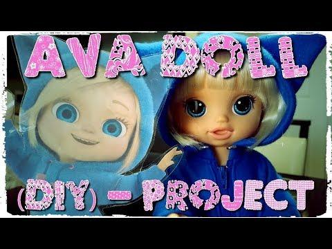 foto de Ava Doll (DIY) Dave and Ava YouTube