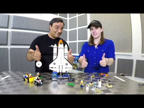 Lego Spaceport - Review and Time-Lapse Build | 4K UHD Video