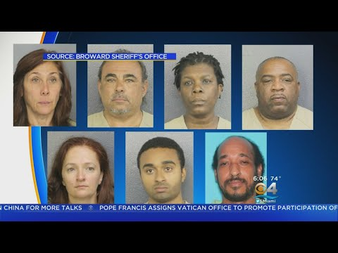 Major Fraud Ring In Broward Busted
