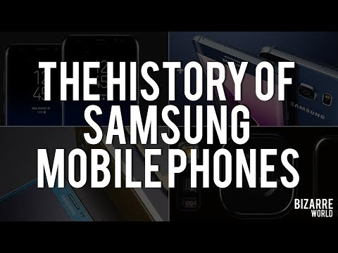 The History of Samsung Mobile Phones