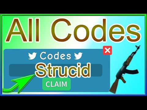 All Codes for Strucid *15K Coins & a Pickaxe* | 2019 October