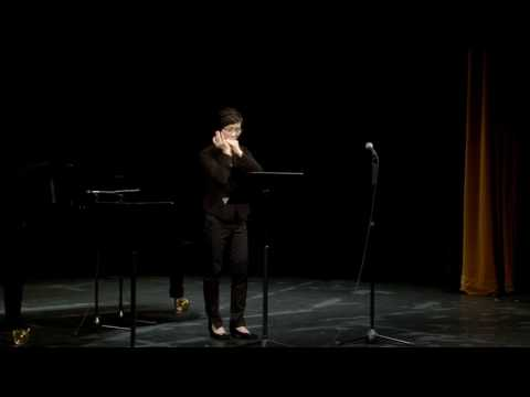 Valsentino by Tommy Reilly, Harmonica solo by Sally Chan, Karmen Ng at the piano