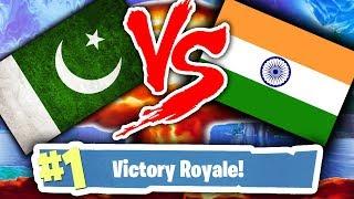 PAKISTAN VS INDIA FORTNITE !!! | WHO WOULD WIN?