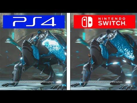 Warframe | Switch VS PS4 | Graphics Comparison | Comparativa
