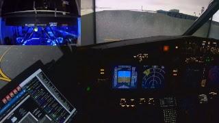 Denver to Jackson Hole Nico Vision (6 DoF Full Motion 738 sim)