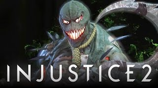 Injustice 2: New Scarecrow VS Blue Beetle Intro Dialogue! (Injustice: Gods Among Us 2)