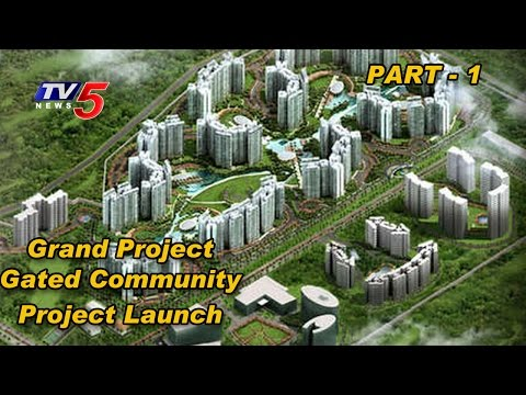 Grand Project | Gated Community Project Launch at Amaravathi # 1 | TV5 News