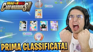 PRIMA RANKED UFFICIALE su DRAGON BALL CARD WARRIOR! *100% strategico*