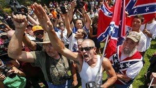 KKK, Black Groups Rally at S.C. Statehouse