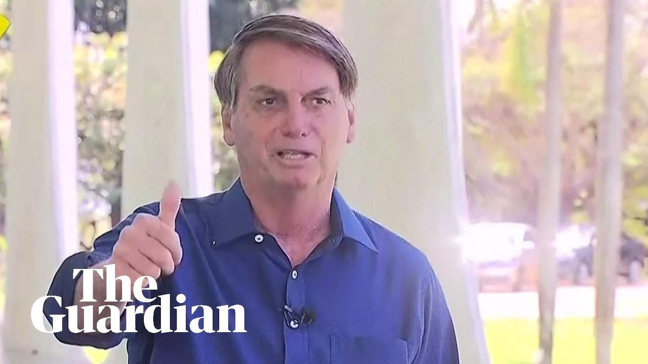 Bolsonaro removes mask after positive Covid-19 test to show press 'I'm doing well'