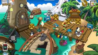 ¡Trucos de la Fiesta Pirata en Club Penguin! - 2014