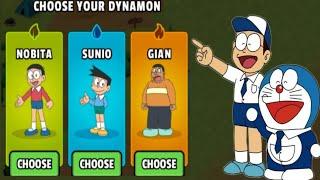 Dynamons World Change Into Doraeamon Game | Dynamons World Game | #TwoSidePokemon screenshot 3