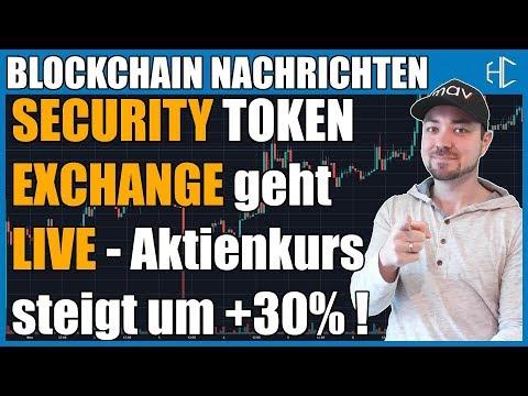 Erste Security Exchange geht Live! tzero und Polymath aktuell | HODLCORE deutsch kryptowährung