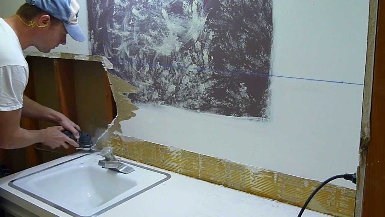Cutting Drywall With An Oscillating Multi Tool YouTube