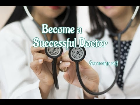 Become a successful doctor-432hz AV Subliminal Affirmations