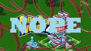"""Games to not buy: Rollercoaster Tycoon 4 """"Mobile"""" Review"""