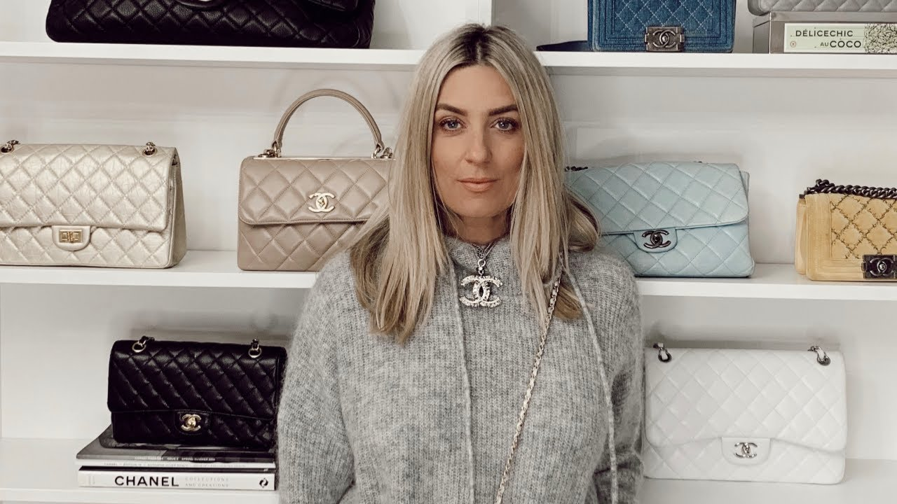 d904c2f87a21 22 CHANEL BAGS!! MY CHANEL BAG COLLECTION! - YouTube