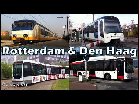 Trein, metro, tram, bus Rotterdam & Den Haag, Schiedam, Spijkenisse (Public Transport)