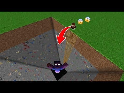 ŞEHRİN ORTASINDA KOCAMAN HEROBRİNE ÇUKURU! 😱 - Minecraft