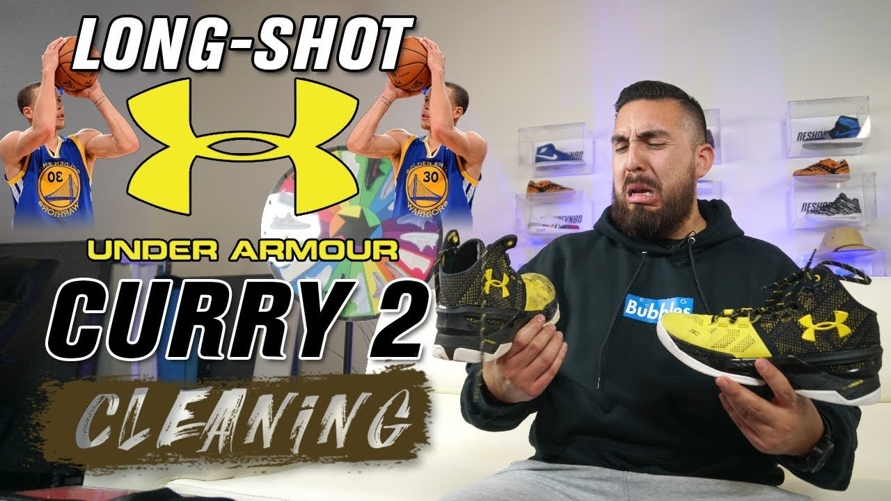 fba2c036a6c6 Scurry Curry Cleaning Under Armour Curry 2 - YouTube