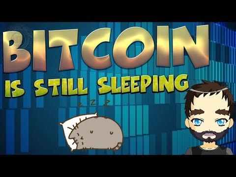 Bitcoin is still sleeping - Big move incoming!