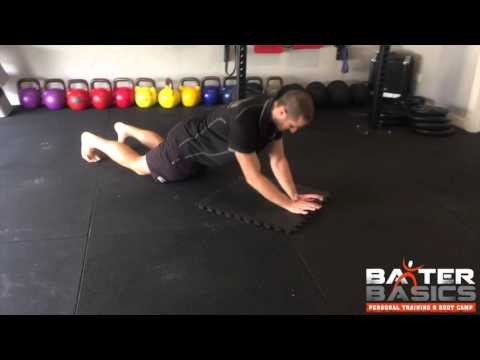 How to: Plank to Triceps Extension