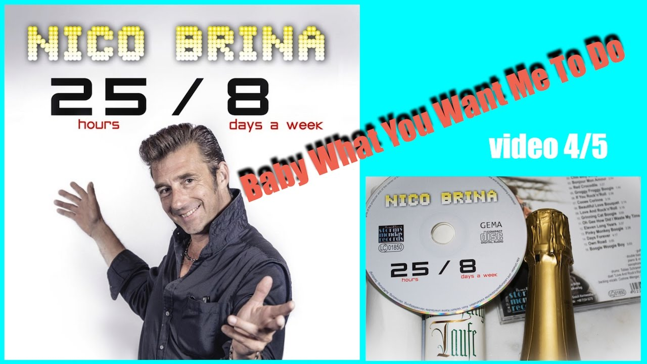 Nico Brina Band Baby What You Want Me To Do Cd Release Party
