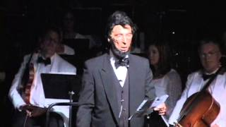 Gettysburg Address performed by Dr. Fred Zilian, July 26, 2013