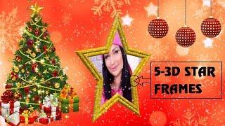 Free Slideshow Proshow Producer - 3D Star Christmas Styles