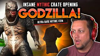 TWO MYTHIC ITEMS IN 3 CRATES! BRING ON GODZILLA!