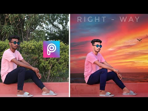 PicsArt Sky Background Change Photo Editing | Photo Editing In Android Mobile