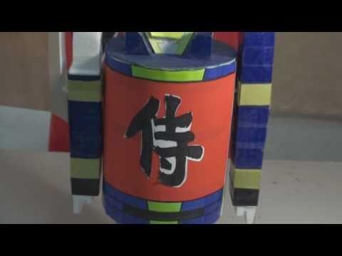 侍戦隊シンケンジャー Samurai Sentai Shinkenger - Shinken Gold Weapons Homemade Model