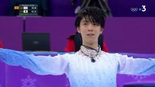 JO 2018 : Patinage artistique - Libre hommes. Yuzuru Hanyu conserve son titre olympique !