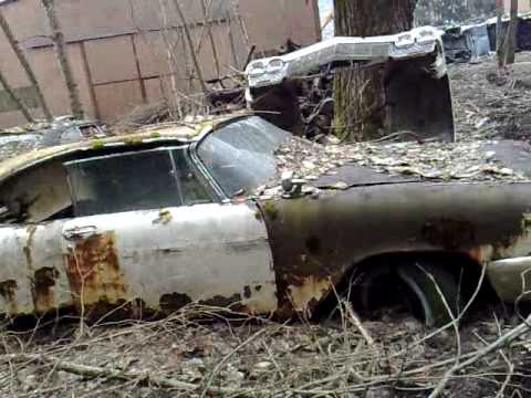 1957 Plymouth Fury For Sale >> 1957 Plymouth Fury on the Swiss Junkyard in Kaufdorf - YouTube