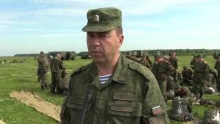 На полигоне Житово, в Рязанской области проходят обучение суворовцы