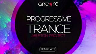 """PROGRESSIVE TRANCE"" FREE Ableton Live Template 