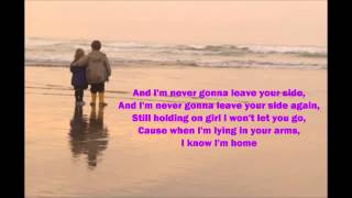 Never Gonna Leave Your Side - Daniel Bedingfield