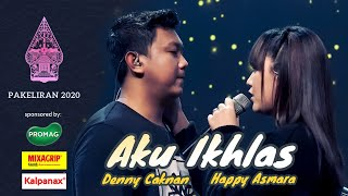 Download Denny Caknan feat. Happy Asmara - AKU IKHLAS by : AFTERSHINE (Live Konser Pakeliran 2020)