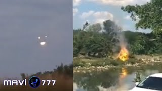 UFO Sightings | Fire burns suddenly makes strange noises! Nov 10,2019