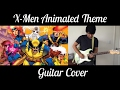 X-Men Animated Series Theme Guitar Cover (by Key of Aaron)