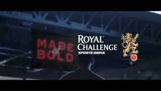 Made of Bold for Royal Challenge Sports Drink by DDB Mudra South & East