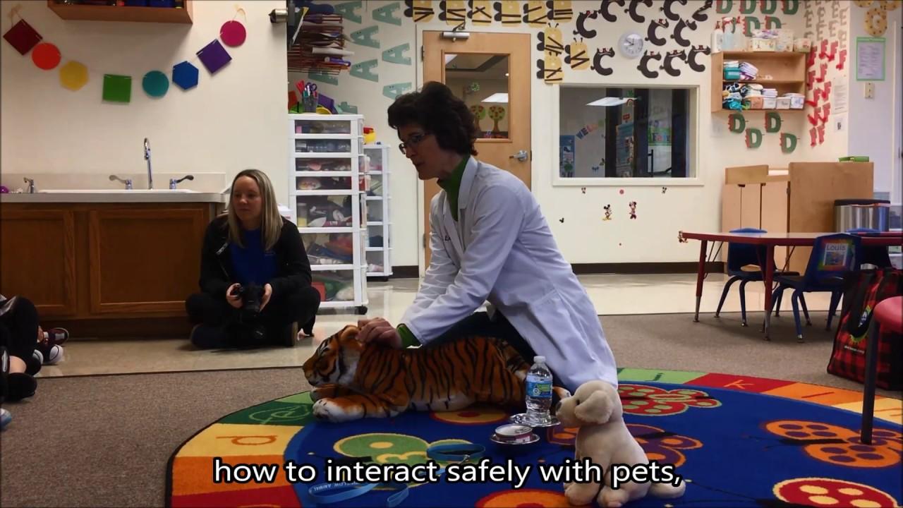 Dr  Sheila Levie Visit at KidsNet Learning Center | Winslow Animal Hospital
