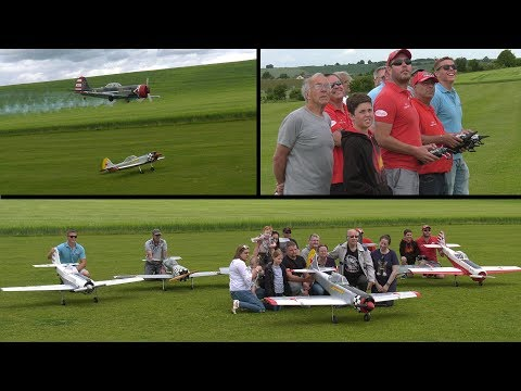 Ken Bones Memorial Flight (NLMFC Scale Day 2017)