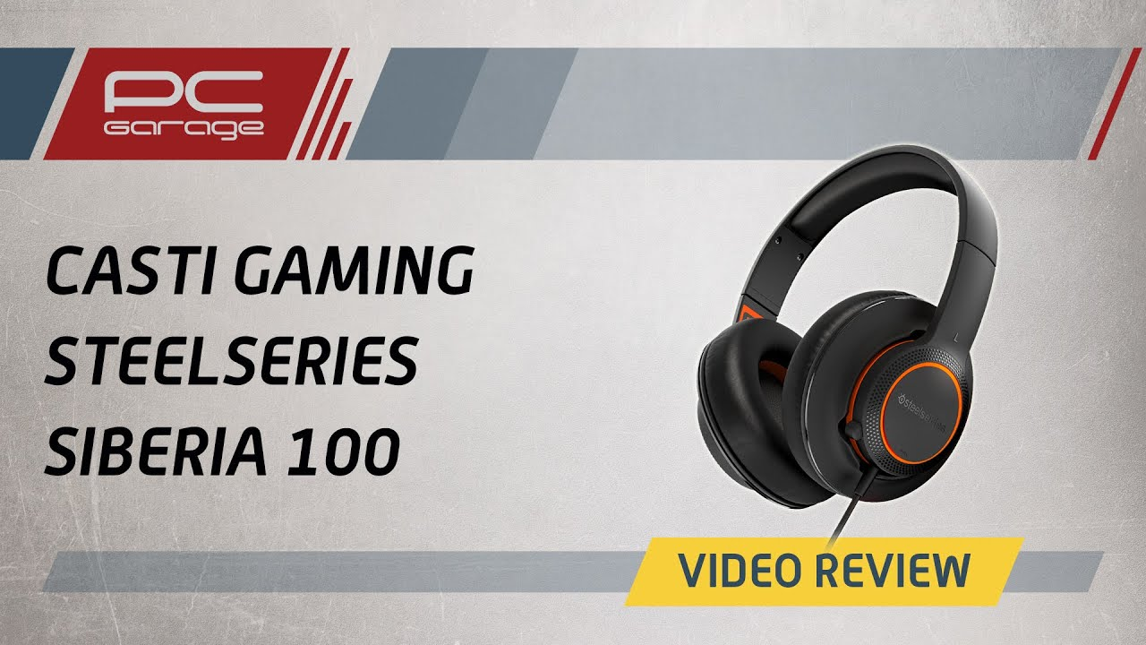 Video Review Casti Gaming SteelSeries Siberia