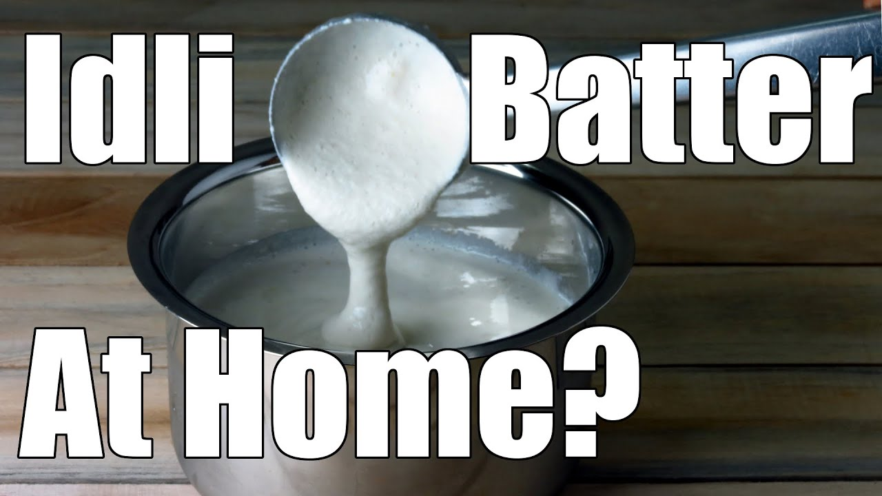Making Idli Batter For Soft Idlis At Home | Simple Indian Recipes #10